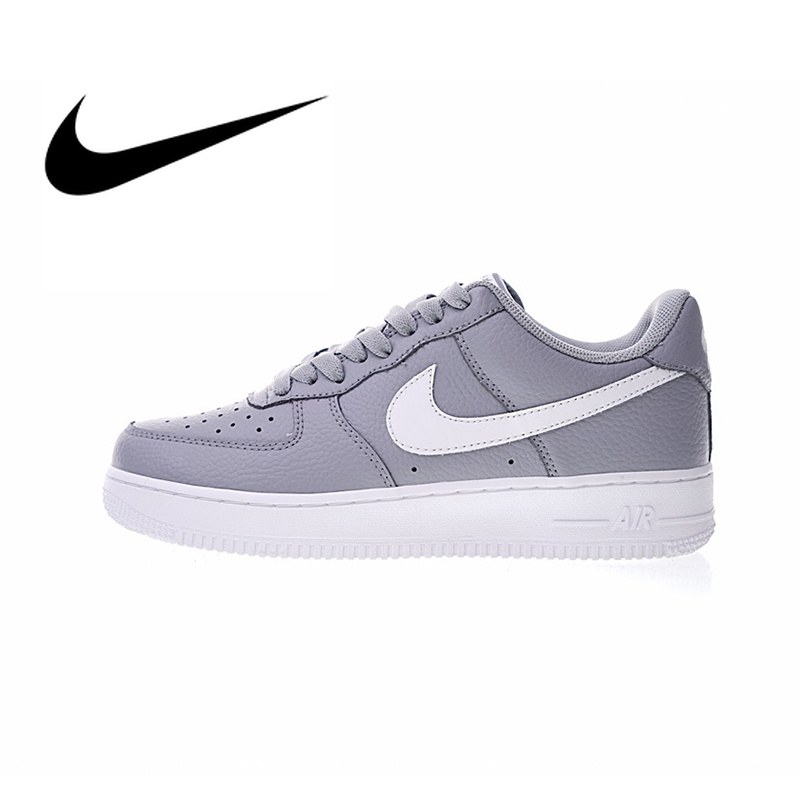 Authentic Nike Air Force 1 AF1 Low Women's Skateboarding Shoes Comfortable Outdoor Sneakers Athletic Designer Footwear AA4083