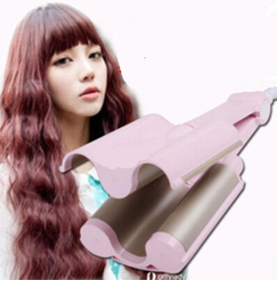 Tremendous Online Get Cheap Triple Barrel Curls Aliexpress Com Alibaba Group Short Hairstyles Gunalazisus