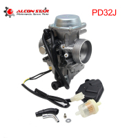 Alconstar PD32J 32mm Motorcycle Carburetor Carburedor for HONDA ATC250 TRX250 TRX300 TRX350 TRX400 Engine KLF300 ATV UTV Racing