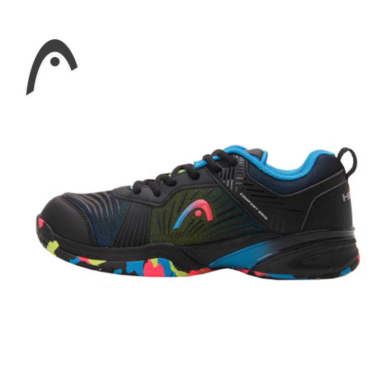 HEAD Kids Tennis Shoes Original Camouflage PU Damping Professional Tennis Sneakers For Boy For Girl Zapatillas Para Tenis