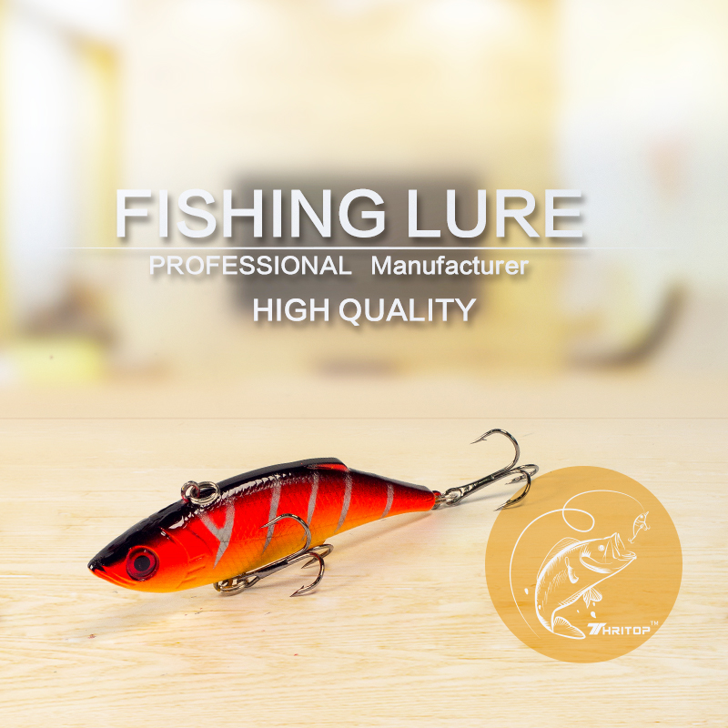 Thritop vissen lokken harde aas 7.5 cm 9.5g, hoge kwaliteit 5 - Visvangst - Foto 2