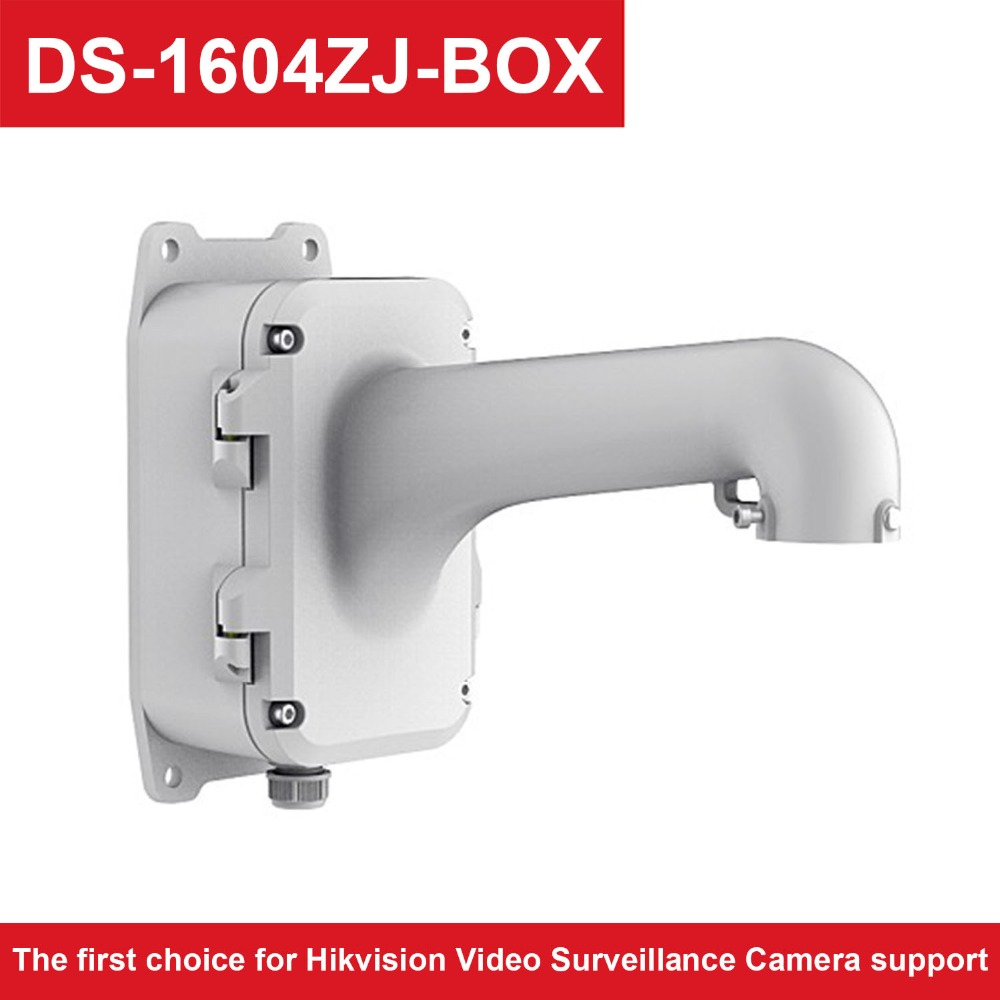 Hik Video Surveillance Camera Support DS-1604ZJ-BOX Wall Mount Bracket with Juction Box for Speed Dome CameraHik Video Surveillance Camera Support DS-1604ZJ-BOX Wall Mount Bracket with Juction Box for Speed Dome Camera
