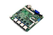 four*Gigabit Ethernet Ports Firewall Motherboard with onboard 2gb DDR3 32G emmc
