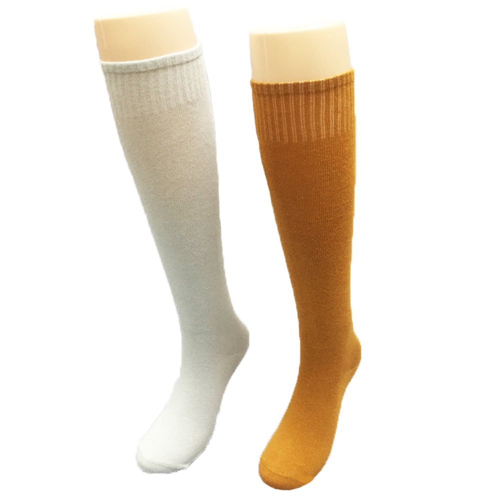 New Top Quality Buddhism Monk Knit Cotton Stockings Martial Art Socks Light Gray Yellow Four Seasons Monk Long Socks ...