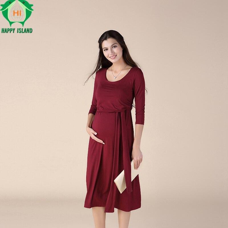 a154d9db507a7 Summer Black Tencel Maternity Dress A-Line Square Collar Clothes for Pregnant  Women Pregnancy Clothing Knee-Length Vestidos