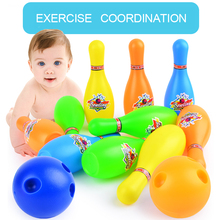 Bowling Bottle Toy Sports Diameter Ball Set Children Funny Outdoor Kids Interaction Leisure Educational