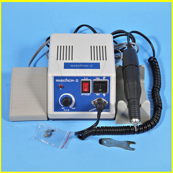 цена на Marathon Dental Lab Electric Polishing Micromotor N3 35K RPM Motor and lab Handpiece