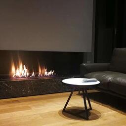 Inno Fire 30 Inch Silver Or Black Wifi Real Fire Intelligent Indoor Auto Recessed Ethanol Fireplace