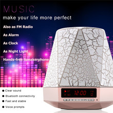 Svpro FM аудио Handsfree TF карты ювелирные изделия Стиль светодиодные лампы функция Мини Портативный беспроводной стерео Bluetooth динамик