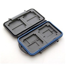 Free Shipping New MC-5 Anti-shock Waterproof DC Memory Card Case Holder Hard Storage Box for 4CF 8SD ABS & Rubber Free Shipping