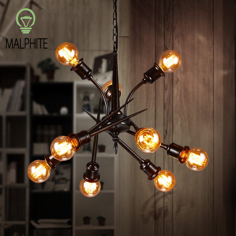 Modern Retro Pendant Lights Vintage Industrial Restaurant Hanging Lighting Fixtures  Decor Kitchen Lamps