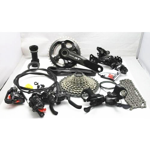 shimano XT M8000 22s 3x11 Speed MTB Groupset 7 pcs, XT M8000 Gear shift Groups with groupset цена
