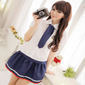 Uniforme Escolar japonés Chica de Clase Marinero Maid Cosplay Escolar Japones Traje Corbata Dolly Moda Falda Conjunto Completo