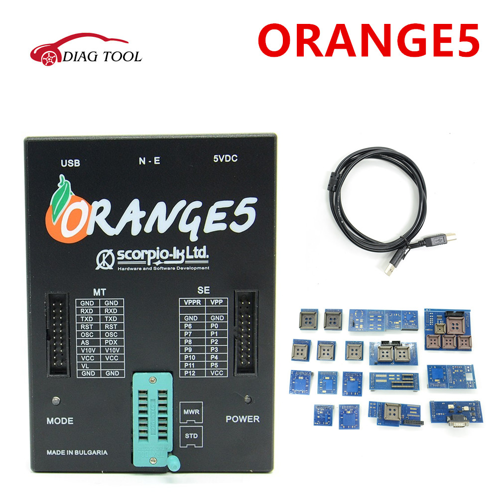 High quality oem orange5 programmer orange 5 programmer with full packet hardware + additional softwa