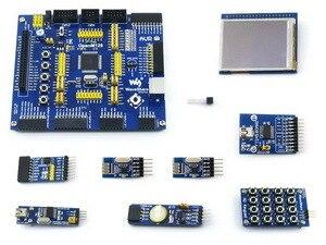 OpenM128 Package A # ATmega128A-AU ATMEL mega AVR ATmega128 MCU 8-bit RISC Board + 9 Accessory Modules Kits