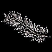 Новая мода шарик цветок листья диадемы невесты Корона Заколки, украшения для волос для женщин подарок свадебный волос Аксессуары Bijoux cheveux