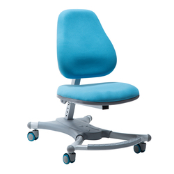 Kids Corrective Sitting Chair Lifted Ergonomics Student Study Stool Slidable with Footrest Safety Kid Adjustable Writing Chair