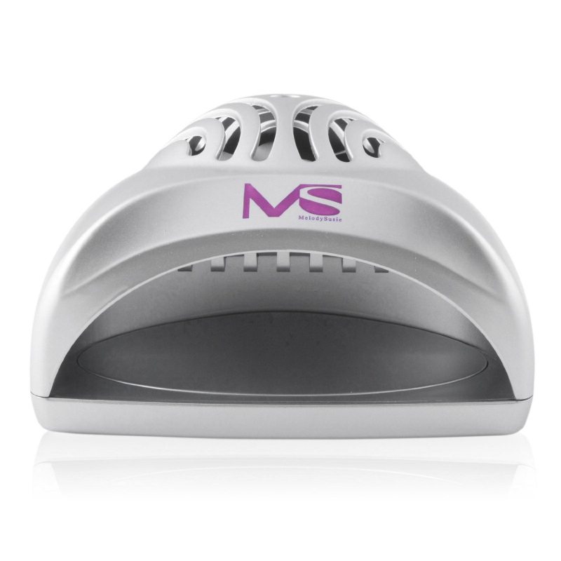 2016 MelodySusie Hot selling ABS mini battery manicure nail fan dryer for gel nail art polish