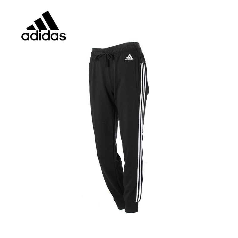 Original New Arrival Official Adidas Women Full Length Running Pants Female Black Leisure Sportswear Breathable Quick Dry original new arrival official adidas women s tight elastic training black pants sportswear