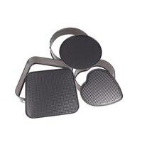 RSCHEF 1 шт. обжарки инструмент 3 предмета в комплекте квадратные в форме сердца core нижний пояс и пуговицы Форма для пирога