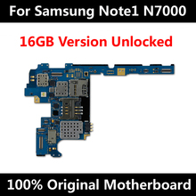 For Original Samsung Galaxy Note 1 N7000 Motherboard 16GB Full Unlocked Mainboard With Chips Android OS System Logic Board