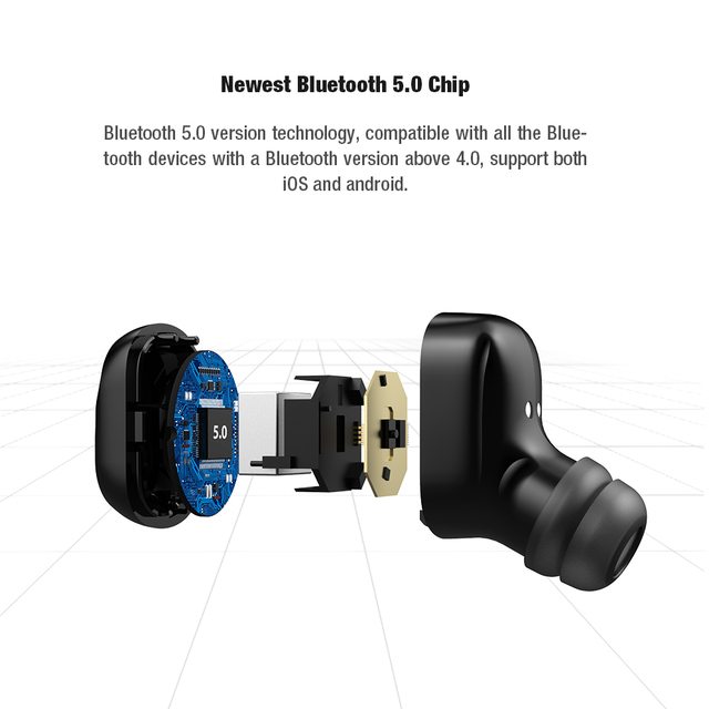 Bluetooth 5.0 Stereo Earbuds