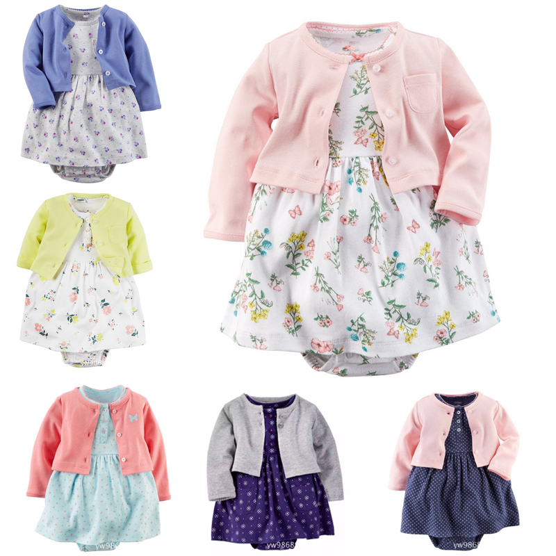 Brand Baby Rompers Spring Baby Girl Clothing Set Newborn Clothing Cotton Baby Girl Clothes Roupas Bebe Infant Baby Jumpsuits cotton baby rompers set newborn clothes baby clothing boys girls cartoon jumpsuits long sleeve overalls coveralls autumn winter