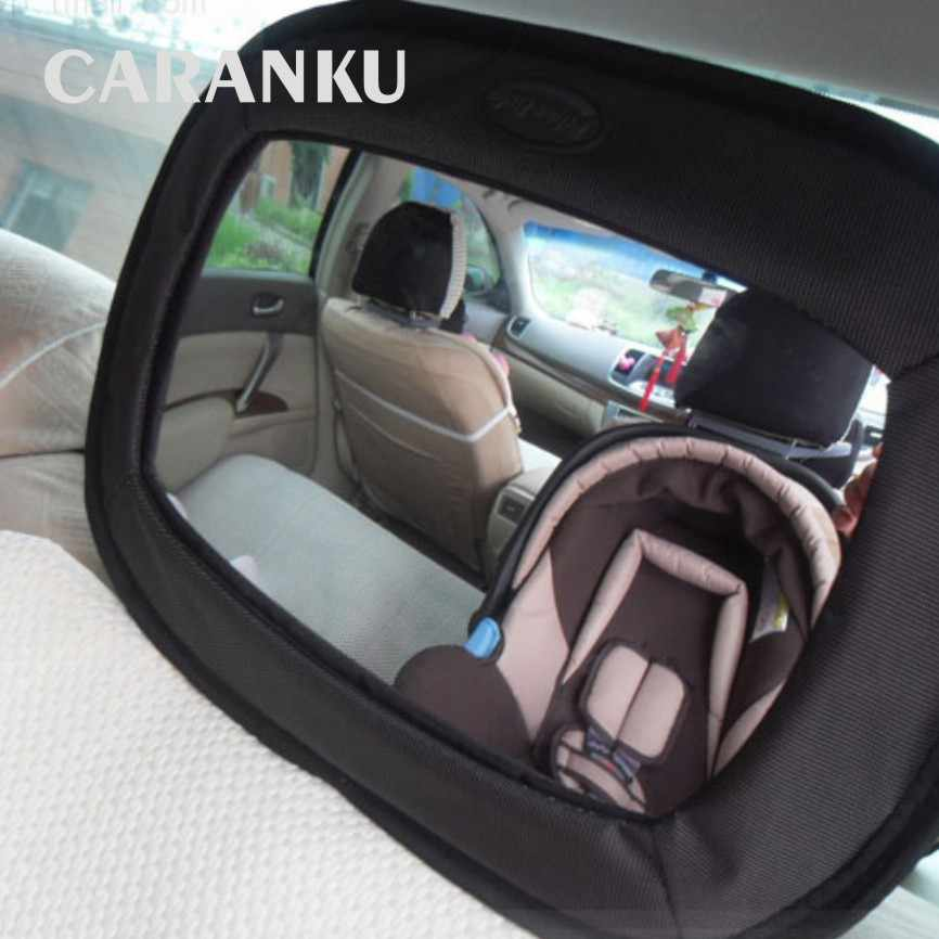 2019 New Car Safety Seat Mirror View Back Baby Car Safety Rearview Kids Mirror Baby Child Infant Adjustable Basket Mirror