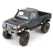 Killerbody LC70 48722 MARAUDER Land Cruiser 70 hard RC Onderwagen shell kit fit voor Traxxas TRX4 Axiale SCX10 chassis Voertuig speelgoed(China)