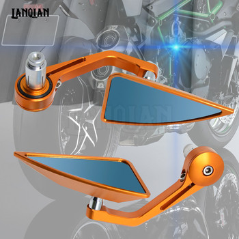 """7/8"""" Accessories Motorcycle Rearview Mirror Round Handle Bar End Mirror Rear Side Mirro for KTM FREERIDE 350 12-16"""