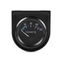 """"""" 52 мм Автомобильный указатель температуры воды 40-120 градусов Цельсия датчик температуры воды автомобильный измеритель TT101261"""