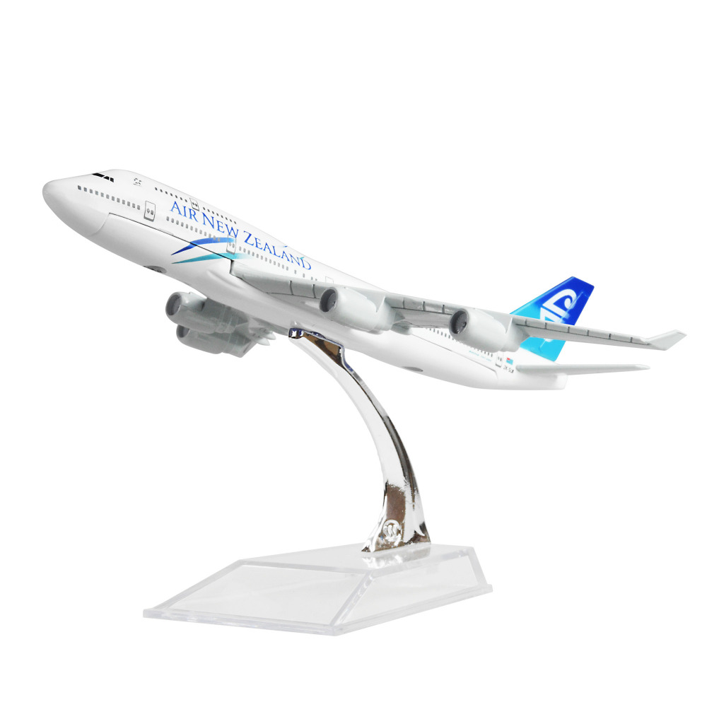 New Zealand Airlines Boeing 747 16cm Airplane Models Child Birthday Gift Plane Toys Free Shipping In Diecasts Toy Vehicles From Hobbies On