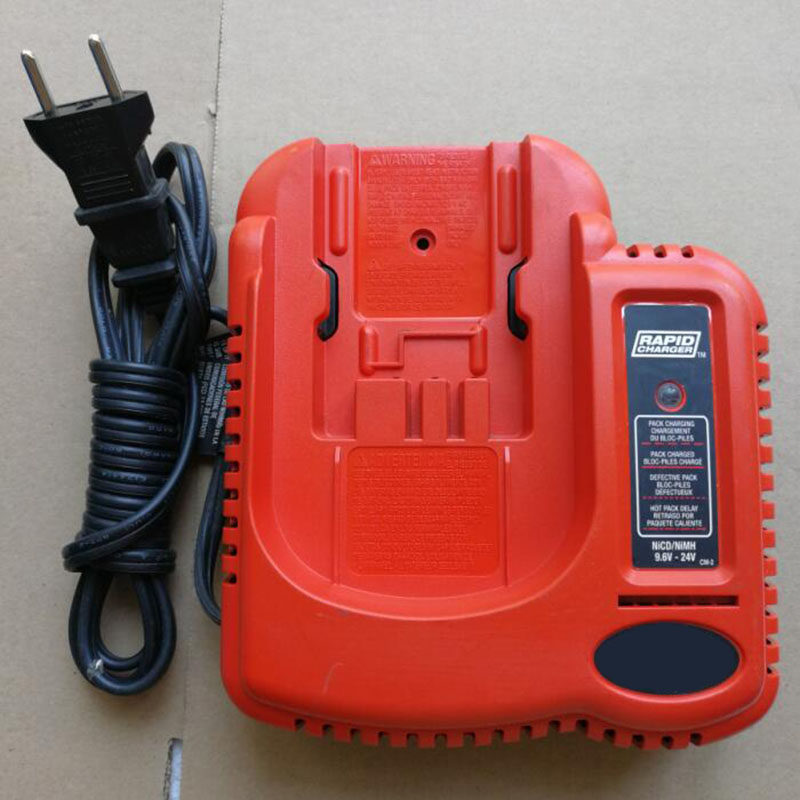 Original Used NI-CD NI-MH Battery Charger For Black Decker 9.6V - 24V Serise Battery Electric Tool Accessory Power Tools Parts 110 240v al1411dv replace ni cd battery charger for bosch charger gdr12v gsb12v gsb14 4v gsr 7 2v gsr9 6v gsr12v gsr14 4v gsr18v