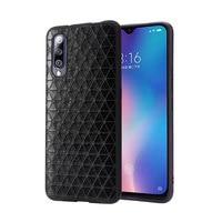 For Xiaomi MI 8 9 MI 9 SE Mi9 Transparent Phone Case Fitted Leather Case Men Women Waterproof Business Leather Geometric Pattern
