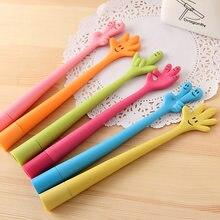 Nouveauté stylo à bille Flexible pour les écoliers stylo à bille souple comme papeterie scolaire 5 pcs/lot