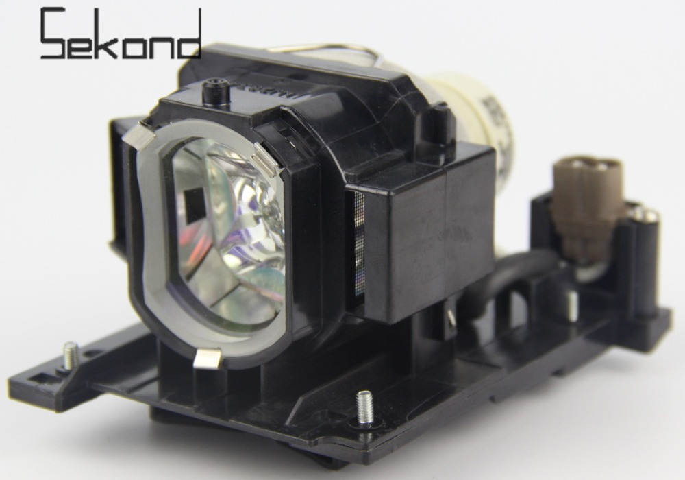 SEKOND Original USHIO Bulb DT01022 Projector Lamp with Housing For Hitachi CP-RX78 CP-RX80W CP-RX80 CP-RX78W ED-X24 original projector lamp for hitachi cp hx1098 with housing