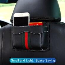 Паста тип автомобильное сиденье многофункциональный ящик для хранения автомобиля сумка для хранения PU кожа щелевая сумка для хранения переносной сиденье назад Органайзер коробка