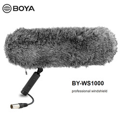 BOYA BY-WS1000 Microphone Blimp Windshield Suspension System Microphones for Canon Nikon Sony SLR camera Camcorder Recorder Mic
