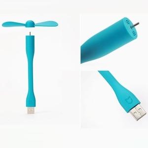 Image 2 - Oryginalny przenośny wentylator USB Xiaomi Mijia elastyczny wentylator USB do laptopa Power Bank elastyczny wentylator do laptopa