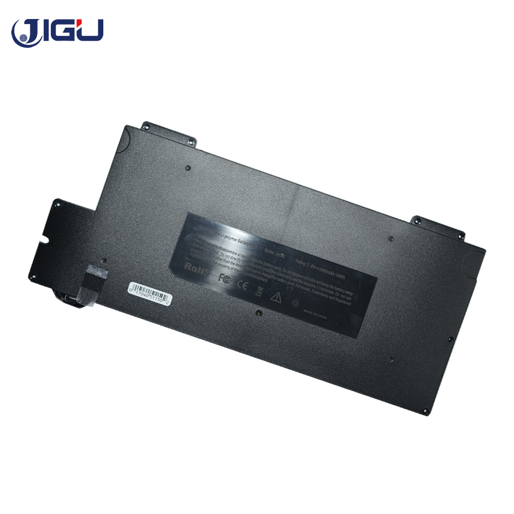 JIGU Laptop Battery For Apple A1245 MacBook Air 13 A1237 A1304 MB003 Z0FS MC233LL/A MC234CH/A MB003LL/A компьютерные аксессуары for apple macbook air 10 apple macbook air a1237 a1304 mb003 mc233 mc234 2008 2009