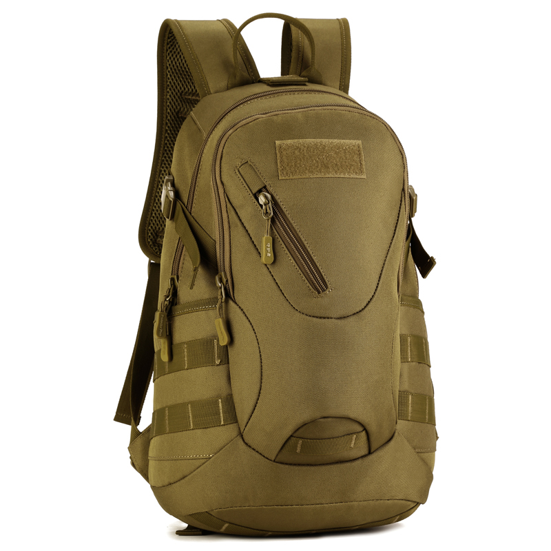 Mochila militar táctica del ejército de Molle de viaje al aire libre impermeable 20L mochila de senderismo de Camping bolsa de escuela duradera