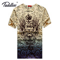 Taddlee Brand New Fashion Men's Top Tee Shirts T-shirt Cotton Stretch Soft Big Size 3D Printed Tshirts Casual Men Short Sleeve