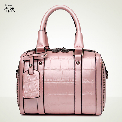 XIYUAN BRAND new retro women messenger bags large shoulder bag high quality PU leather totes bag big handbags lady handbag pink bailar fashion women shoulder handbags messenger bags button rivets totes high quality pu leather crossbody famous brand bag