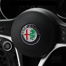 4,0 см 40 мм ALFA ROMEO 159 эмблемы новости Стиль автомобиля Стикеры рулевого колеса Стикеры s Auto Accessories
