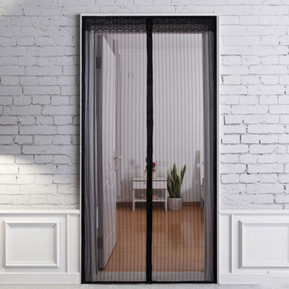 2017 new modern 90 x 210cm magnetic insect door screen ForFenetre 55x90