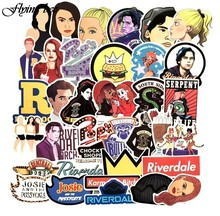 20sets/lot ( 35pcs/set) Riverdale Punk Waterproof Stickers Kids Toy Sticker for DIY Luggage Laptop Skateboard Decoration X0056(China)