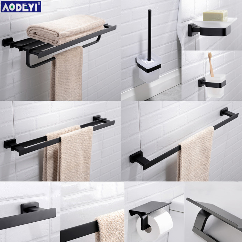 Bathroom Hardware Set Black Towel Rail Rack Bar Shelf Paper Holder Toothbrush Holder Soap Dished Bathroom Accessories jim hornickel negotiating success tips and tools for building rapport and dissolving conflict while still getting what you want
