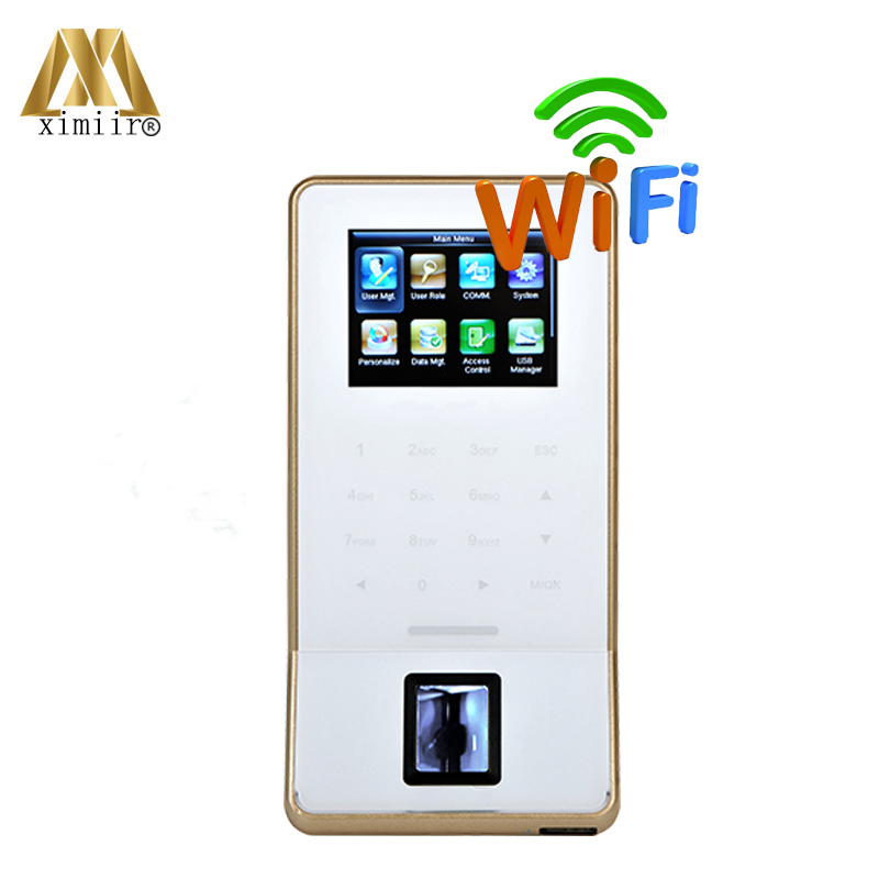ZK F22 Biometric Fingerprint Time Attendance And Access Control Color Screen With Keypad And WIFI TCP/IP USB Door Access ControlZK F22 Biometric Fingerprint Time Attendance And Access Control Color Screen With Keypad And WIFI TCP/IP USB Door Access Control