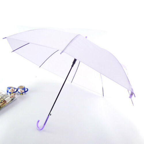 Image 5 - 2019 New Colorful Transparent Automatic Rain Umbrella Dome Wedding Party Favor Waterproof-in Umbrellas from Home & Garden