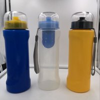 Portable Size Outdoor Camping Hiking Activated Carbon Filter Water Bottle Outdoor Hiking Gym Filtered Drinking Bottle